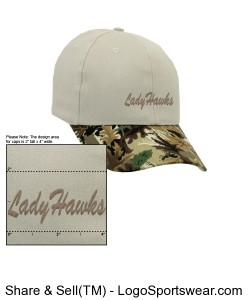 LH2K Cap Tan/camo Design Zoom